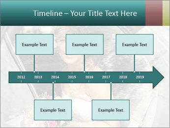 Pretty bride PowerPoint Templates - Slide 28