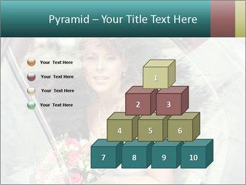 Pretty bride PowerPoint Templates - Slide 31