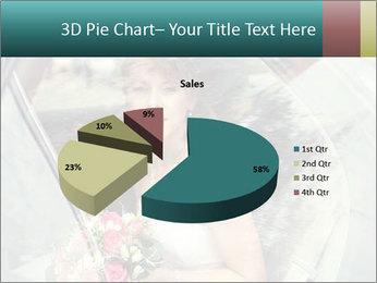 Pretty bride PowerPoint Templates - Slide 35