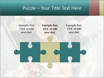 Pretty bride PowerPoint Templates - Slide 42