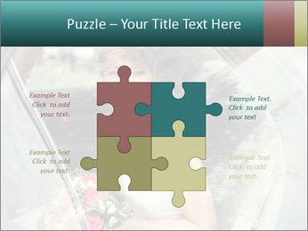 Pretty bride PowerPoint Templates - Slide 43