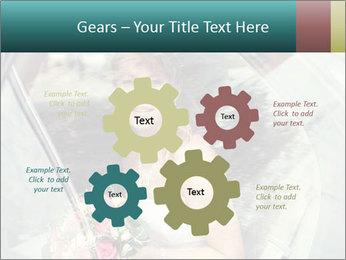 Pretty bride PowerPoint Templates - Slide 47