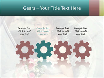 Pretty bride PowerPoint Templates - Slide 48