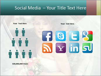 Pretty bride PowerPoint Templates - Slide 5