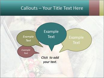 Pretty bride PowerPoint Templates - Slide 73