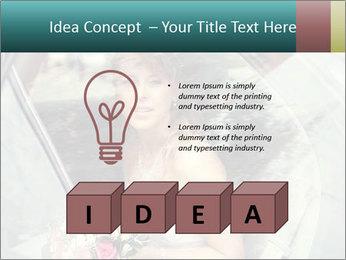 Pretty bride PowerPoint Templates - Slide 80