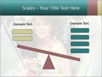Pretty bride PowerPoint Template - Slide 89