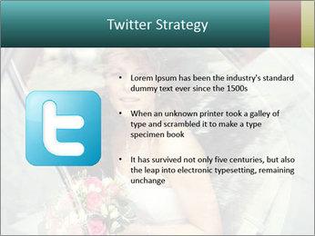 Pretty bride PowerPoint Templates - Slide 9