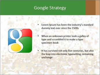 Golden coins rain PowerPoint Template - Slide 10