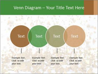 Golden coins rain PowerPoint Template - Slide 32