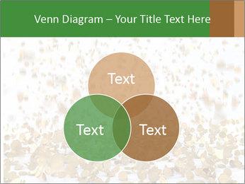Golden coins rain PowerPoint Template - Slide 33