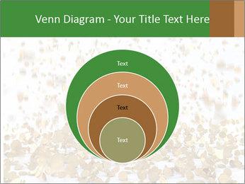 Golden coins rain PowerPoint Template - Slide 34