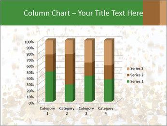 Golden coins rain PowerPoint Template - Slide 50
