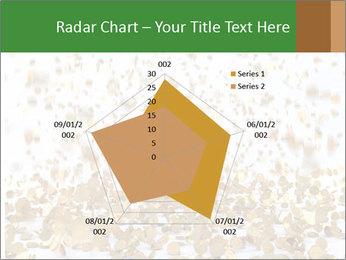 Golden coins rain PowerPoint Template - Slide 51