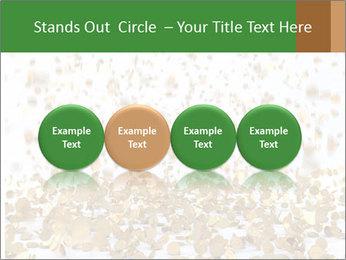 Golden coins rain PowerPoint Template - Slide 76