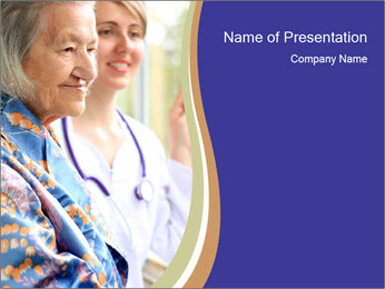 Doctor PowerPoint Template - Slide 1
