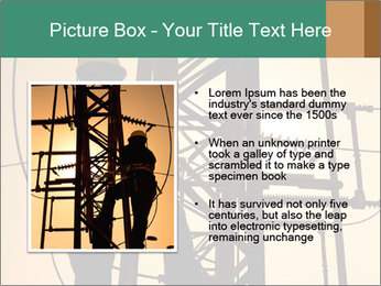 Electric substation PowerPoint Template - Slide 13