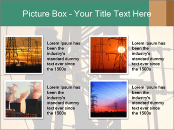 Electric substation PowerPoint Template - Slide 14