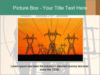 Electric substation PowerPoint Template - Slide 15