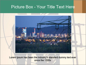 Electric substation PowerPoint Templates - Slide 16