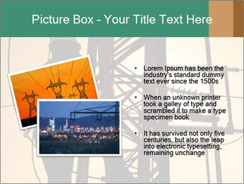 Electric substation PowerPoint Templates - Slide 20