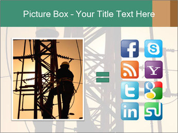 Electric substation PowerPoint Template - Slide 21