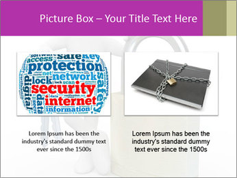Huge padlock PowerPoint Template - Slide 18