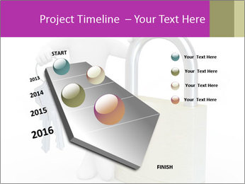 Huge padlock PowerPoint Template - Slide 26