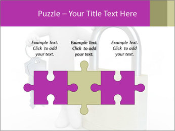 Huge padlock PowerPoint Template - Slide 42