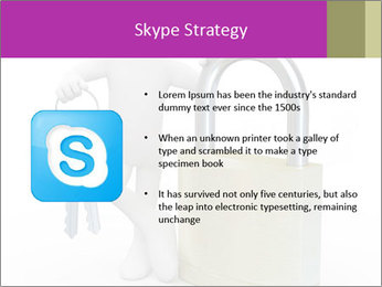Huge padlock PowerPoint Template - Slide 8
