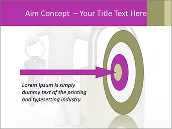 Huge padlock PowerPoint Template - Slide 83