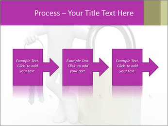 Huge padlock PowerPoint Template - Slide 88