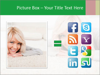 Charming blond PowerPoint Templates - Slide 21