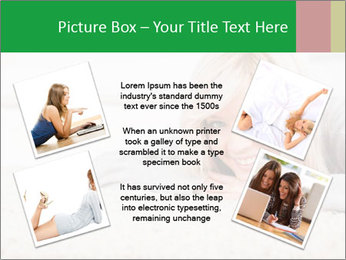 Charming blond PowerPoint Templates - Slide 24