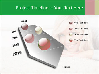 Charming blond PowerPoint Templates - Slide 26
