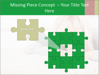 Charming blond PowerPoint Templates - Slide 45