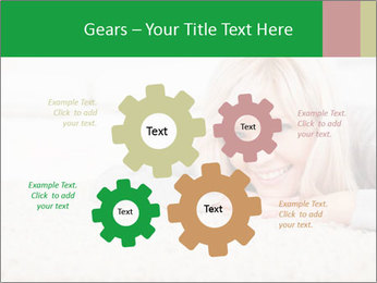 Charming blond PowerPoint Templates - Slide 47