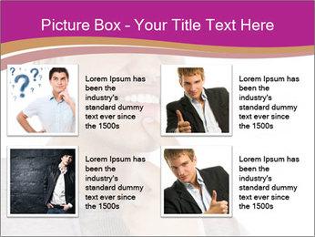 Man happy PowerPoint Template - Slide 14