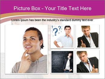 Man happy PowerPoint Template - Slide 19