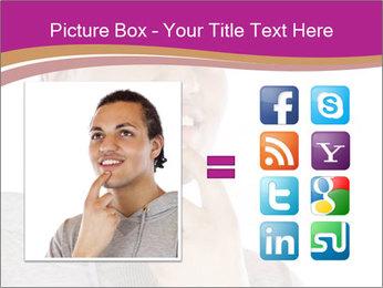 Man happy PowerPoint Template - Slide 21