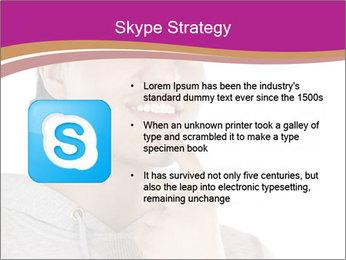 Man happy PowerPoint Template - Slide 8