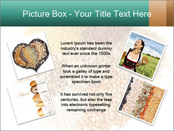 Different kinds of cereals PowerPoint Templates - Slide 24