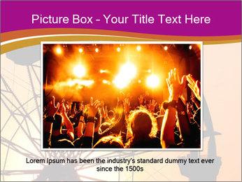Silhouette of ferris PowerPoint Template - Slide 16