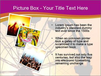 Silhouette of ferris PowerPoint Template - Slide 17