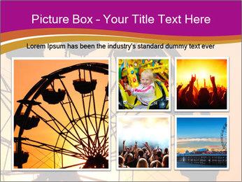 Silhouette of ferris PowerPoint Template - Slide 19