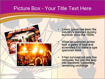 Silhouette of ferris PowerPoint Template - Slide 20