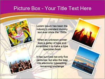 Silhouette of ferris PowerPoint Template - Slide 24