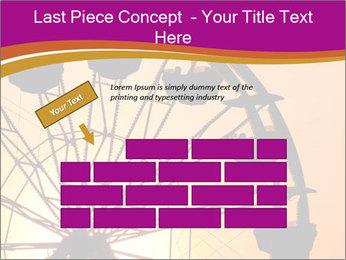 Silhouette of ferris PowerPoint Template - Slide 46