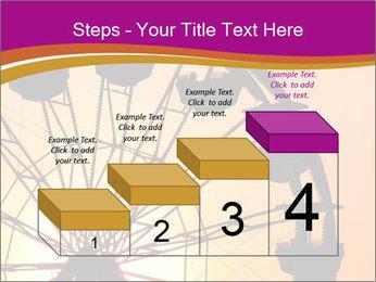 Silhouette of ferris PowerPoint Template - Slide 64
