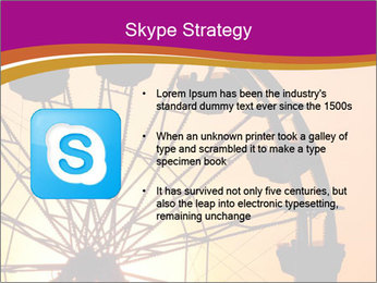Silhouette of ferris PowerPoint Template - Slide 8